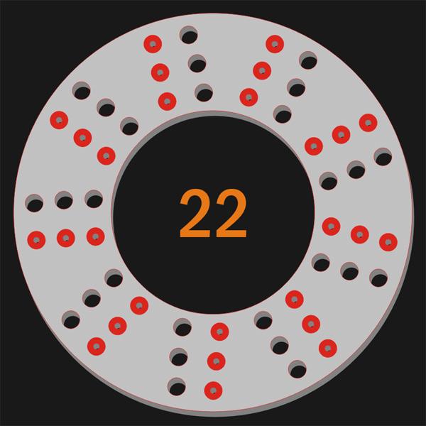 27 Pilot Hole 27 Trough