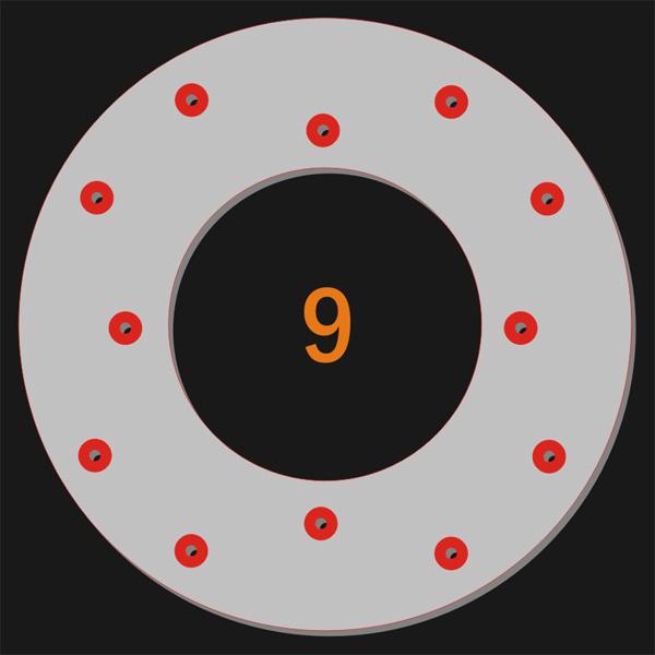 12 Pilot Holes